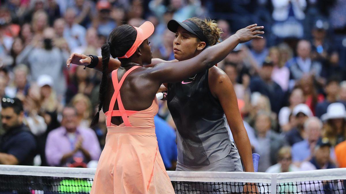 Sloane Stephens et Madison Keys