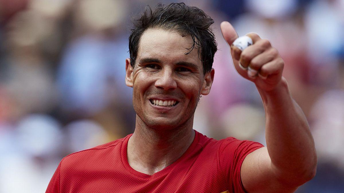 Rafael Nadal à Valence en 2018