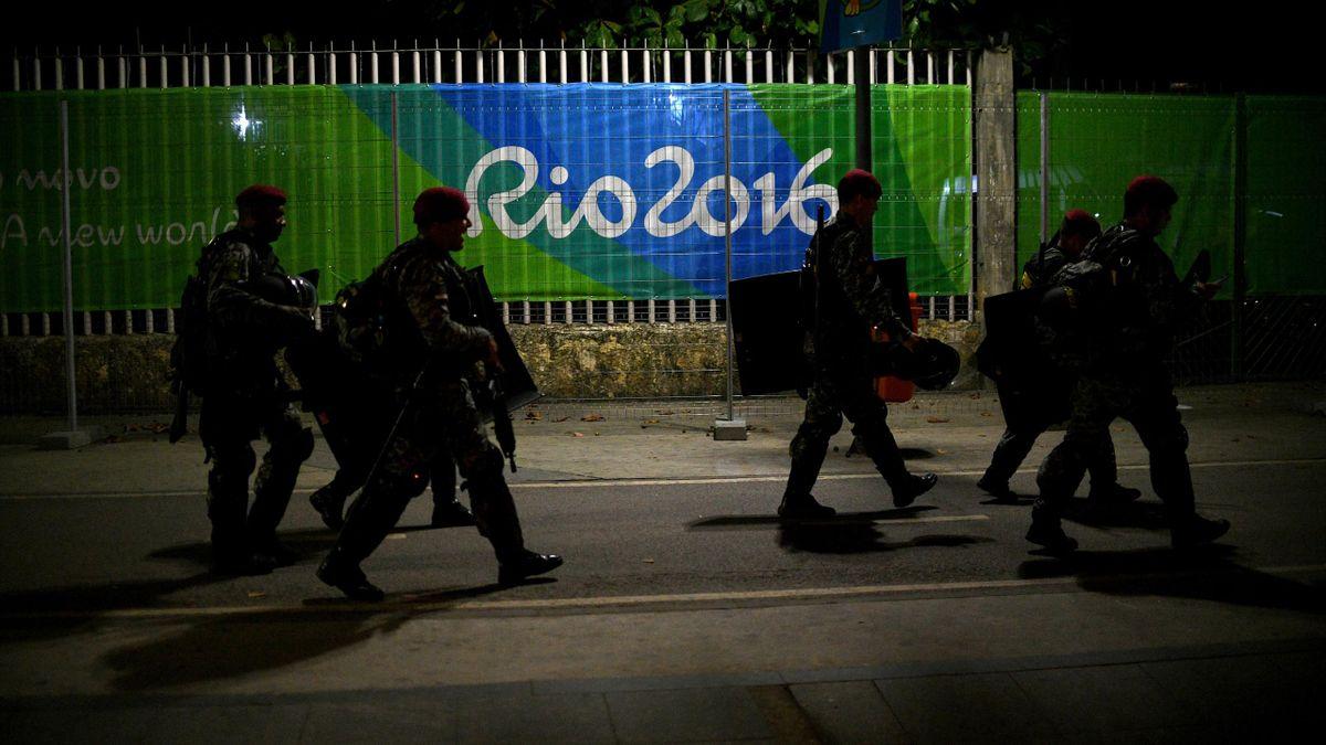 La cérémonie d'ouverture des JO de Rio, c'est aussi un dispositif de sécurité XXL dans et autour du Maracana avec les forces spéciales brésiliennes