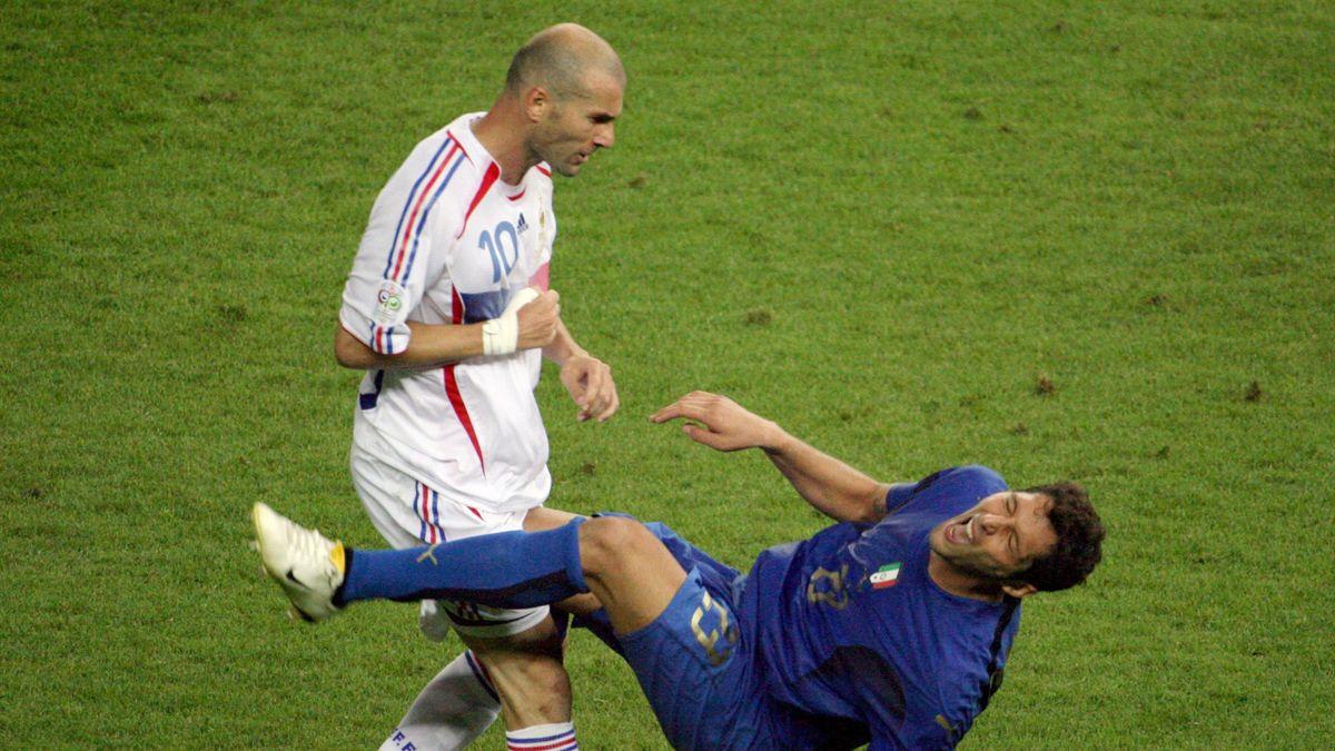 """Materazzi sulla testata di Zidane ai Mondiali: """"Gli dissi che preferivo  altro alla sua maglietta"""" - Eurosport"""