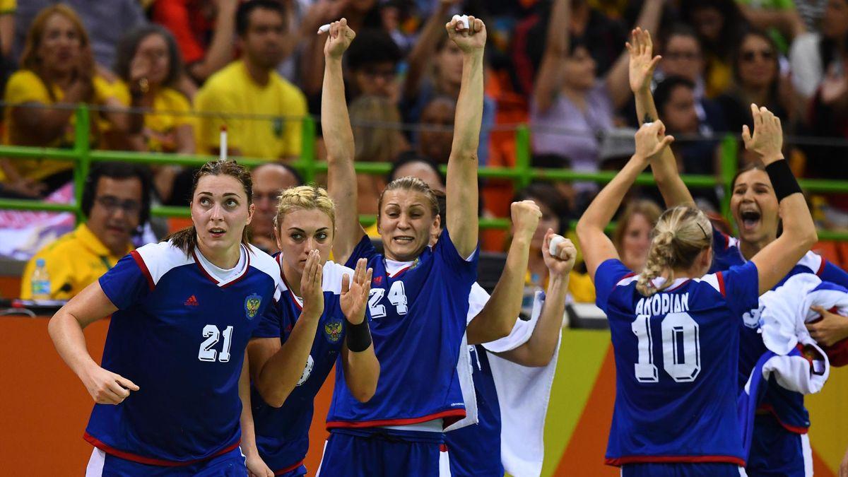 Handball Russland Frankreich