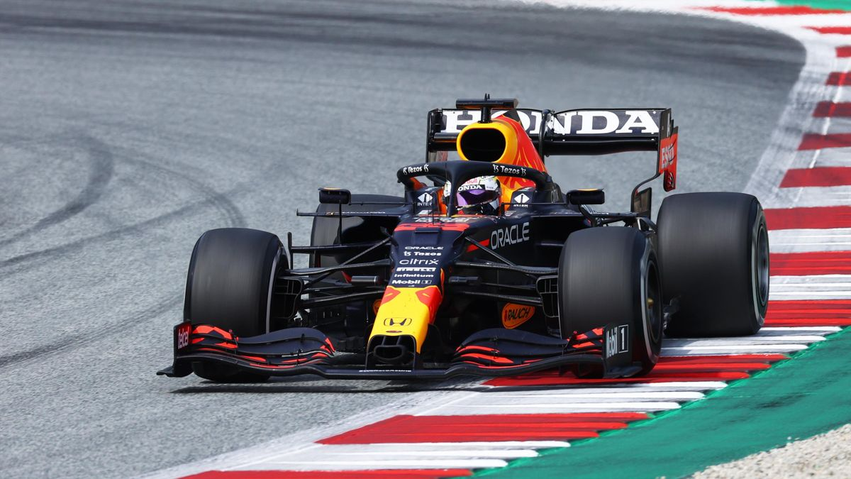 Max Verstappen (Red Bull) beim GP von Österreich in Spielberg