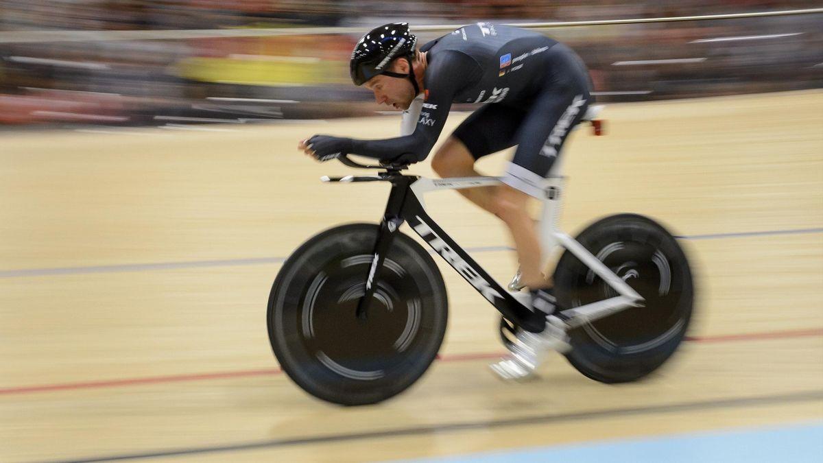 Jens Voigt - Record dell'ora 18 settembre 2014 (AFP)
