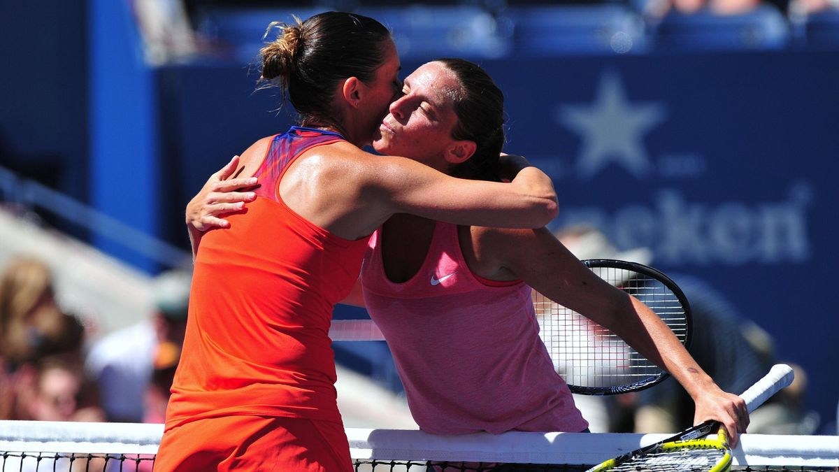 Roberta Vinci and Flavia Pennetta - US Open 2013