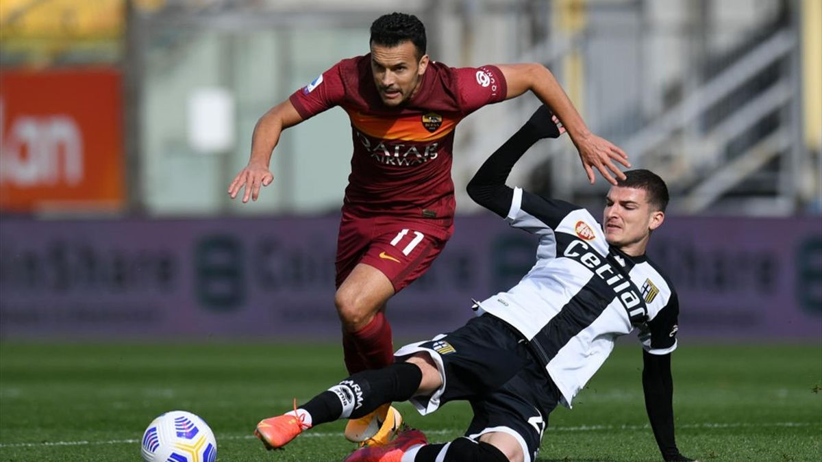 Pedro, Mihaila - Parma-Roma Serie A 2020-21