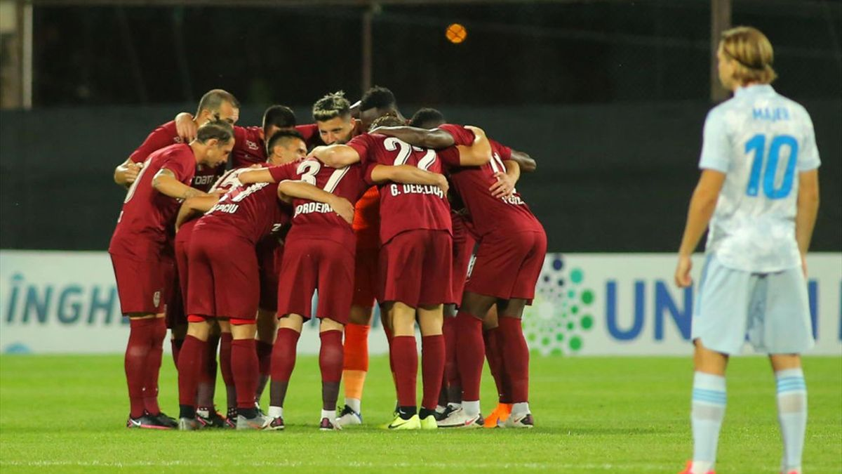 CFR Cluj s-a calificat pentru a 2-a oară la rând în grupele Europa League