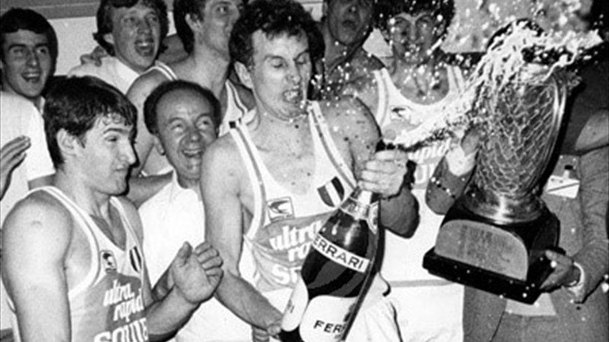 Squibb Cantù, vincitore Coppa dei Campioni 1982