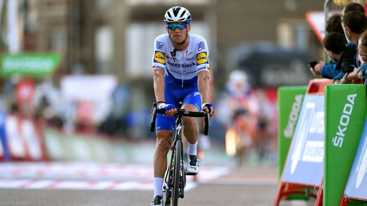 Zdenek Stybar sul traguardo di Suances - Vuelta 2020 - Getty Images