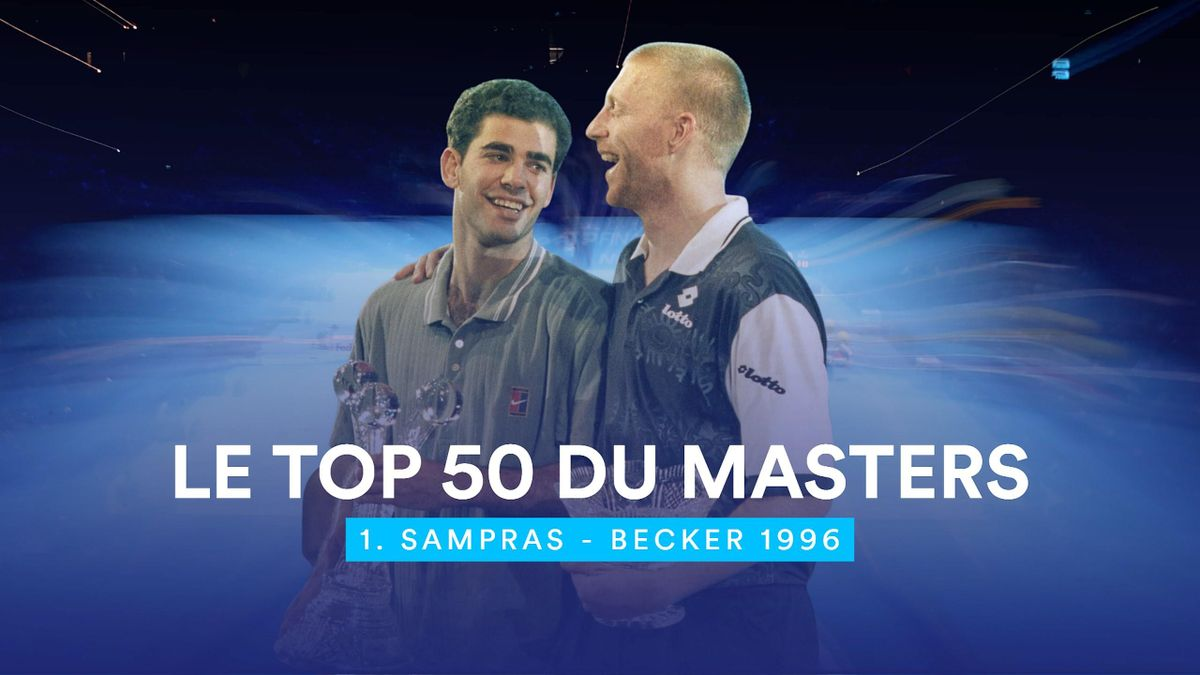 Top Masters : 1. Pete Sampras - Boris Becker 1996.