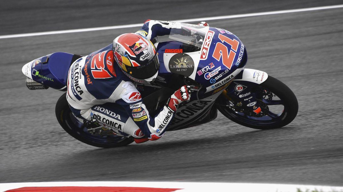 Fabio Di Giannantonio (Del Conca Gresini - Honda) au Grand Prix d'Autriche 2018
