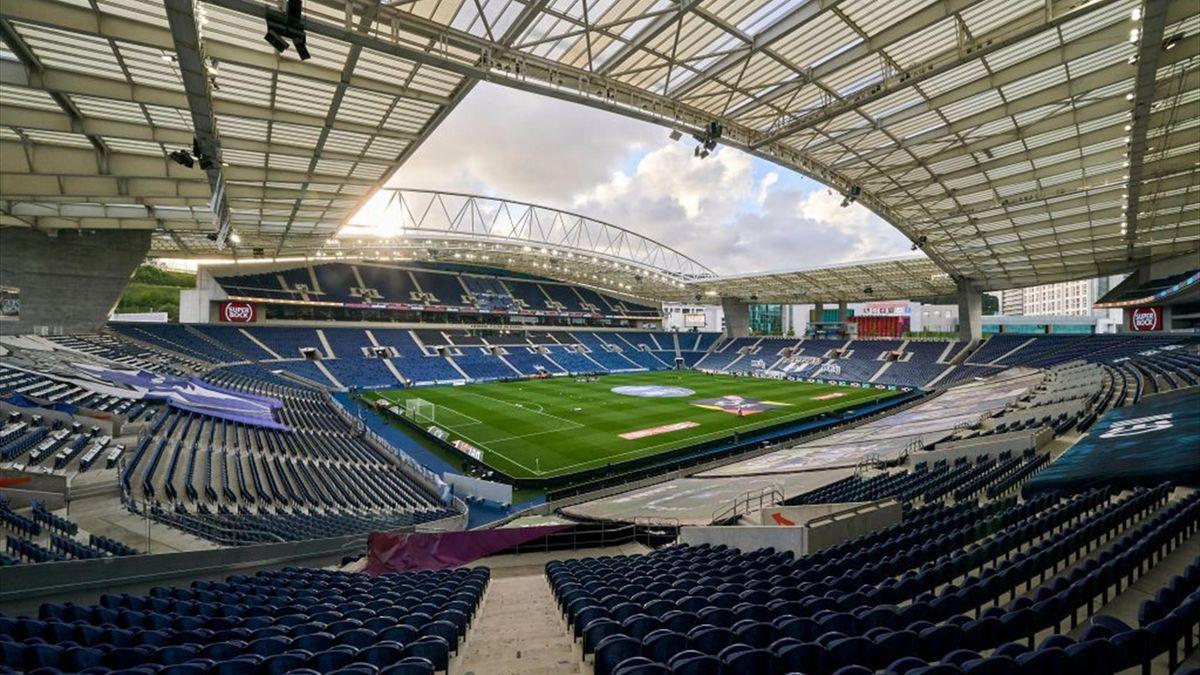 L'Estadio Do Dragao di Oporto