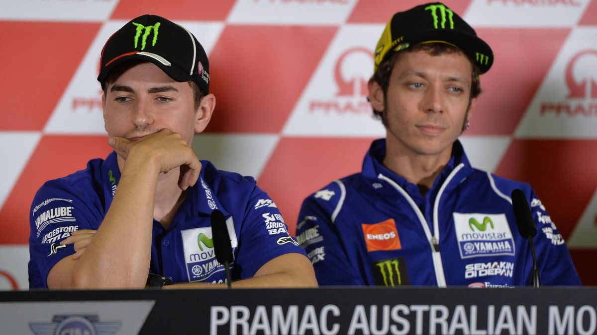 Jorge Lorenzo y Valentino Rossi, Yamaha