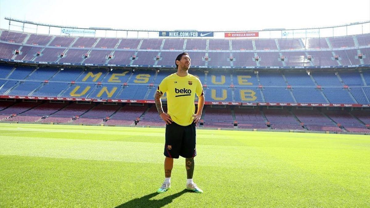 Leo Messi s-a antrenat pe Camp Nou, la ultimul antrenament al celor de la Barcelona