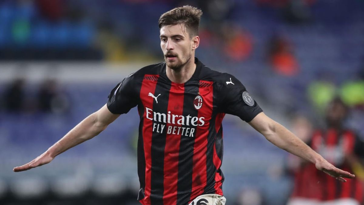 Gabbia esulta in Sampdoria-Milan - Serie A 2020/2021 - Getty Images