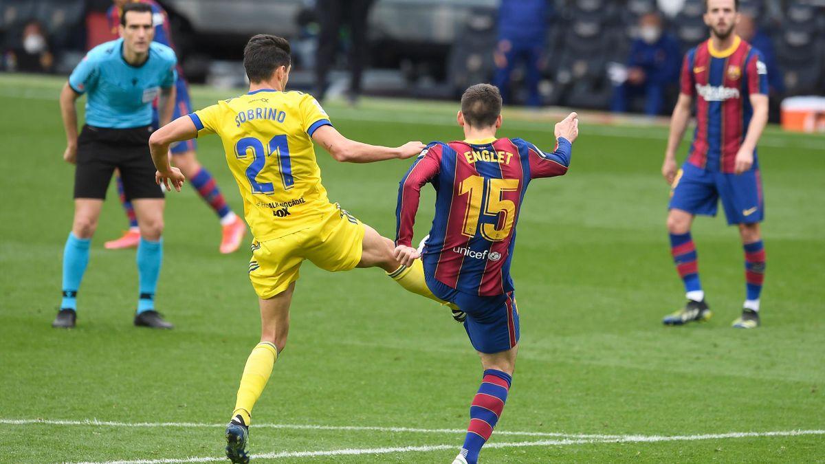 Clément Lenglet (Barça) concède un penalty face à Cadix