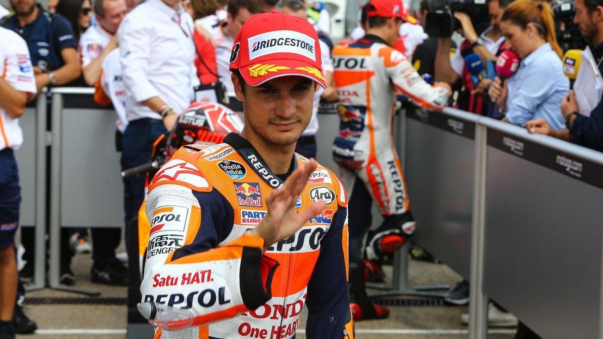 Dani Pedrosa (Honda HRC) au Grand Prix d'Allemagne 2015