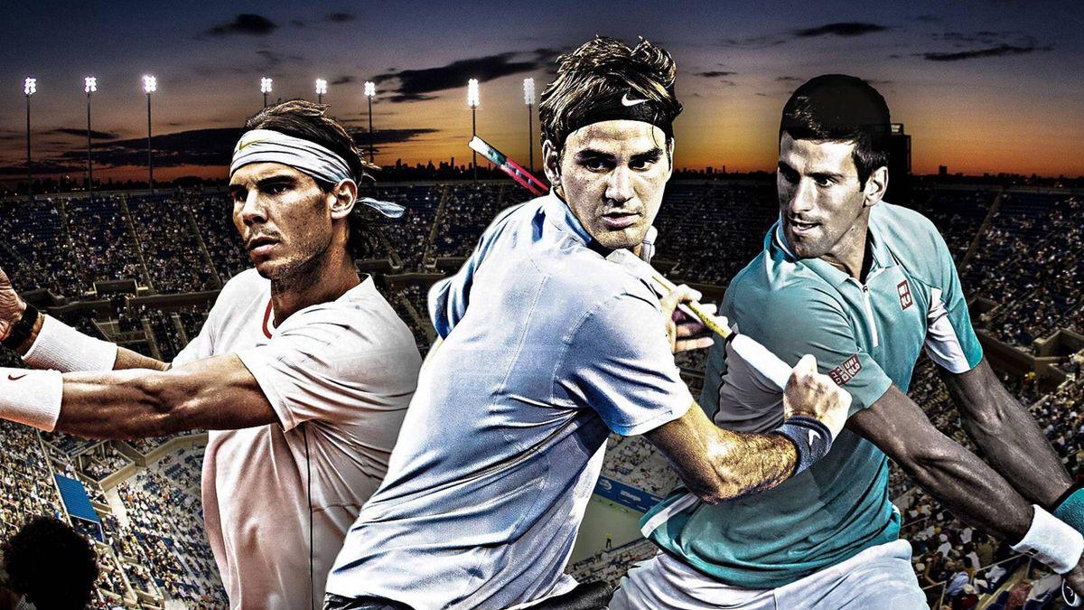Nadal, Federer și Djokovic