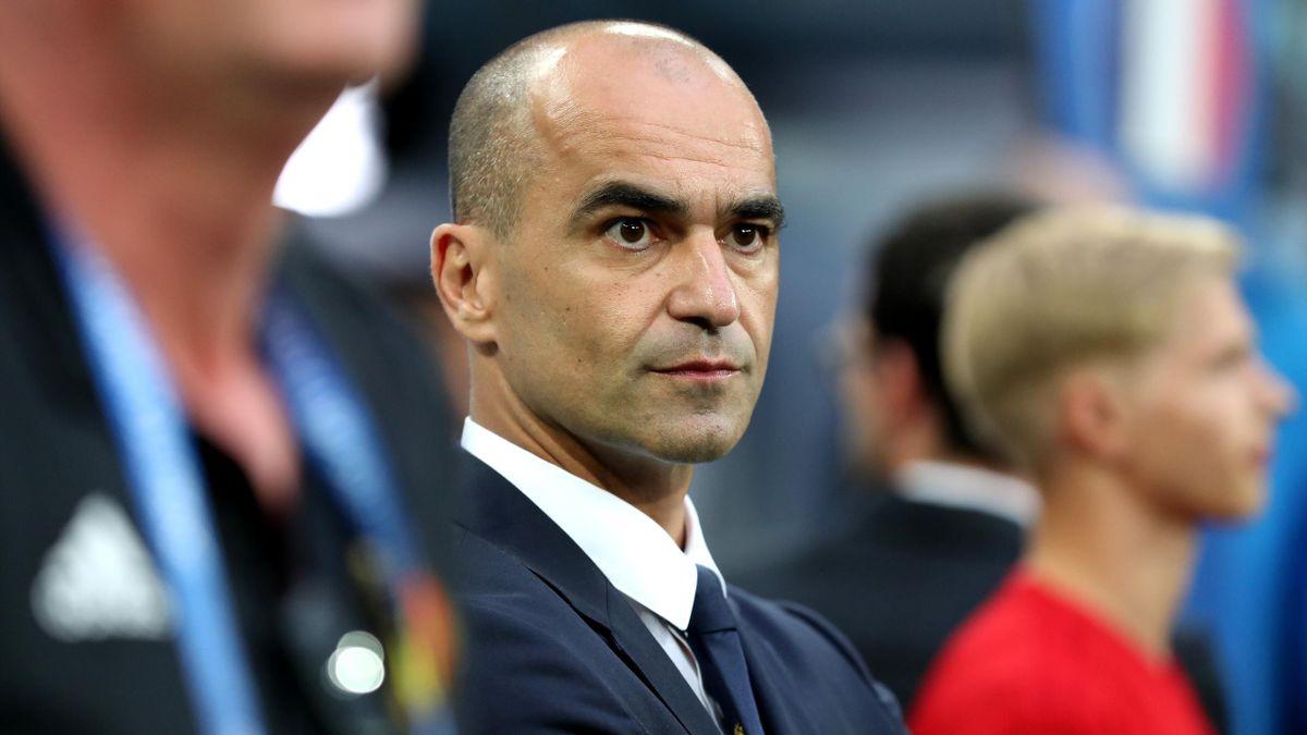 Roberto Martinez, sélectionneur de la Belgique, comprend la