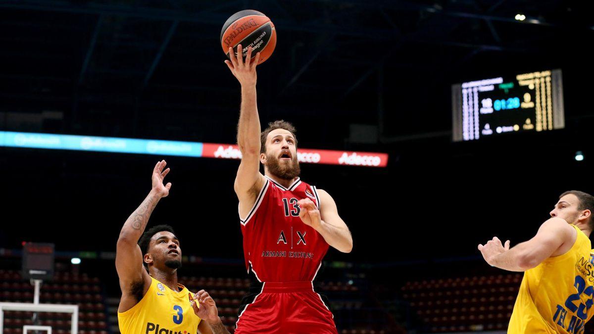 Sergio Rodriguez, Olimpia Milano-Maccabi, Euroleague 2020-21