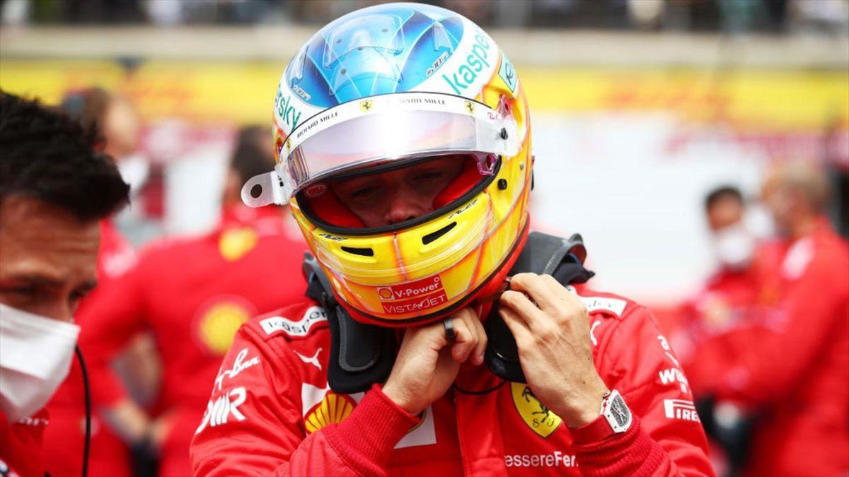 Charles Leclerc prima del GP di Francia 2021