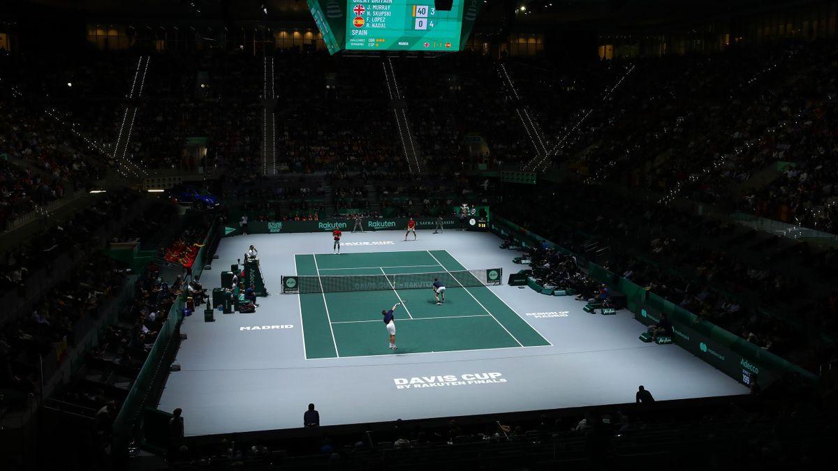 Das neue Davis-Cup-Format mit einer Finalrunde in Madrid wurde 2019 erstmals ausgetragen