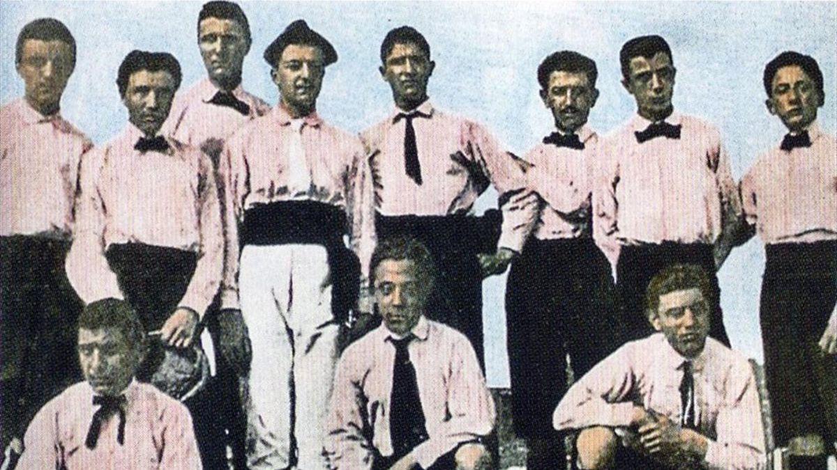 1° novembre 1897, nasce la Juventus: dal rosanero alla prima ...