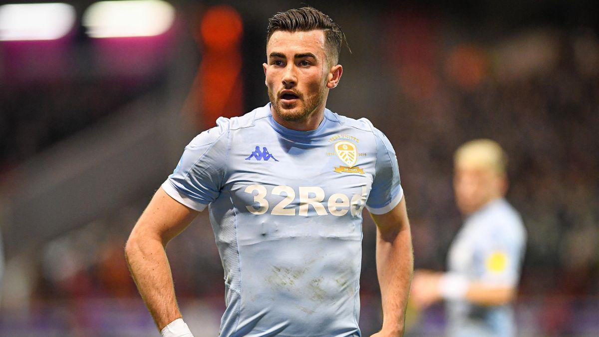 Jack Harrison in action for Leeds