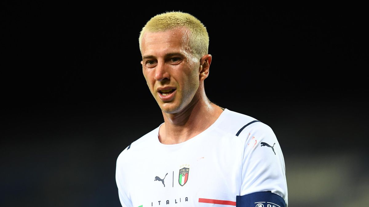 Federico Bernardeschi con la maglia della Nazionale, 2021