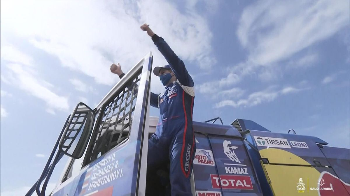 Dakar Final Stage : Trucks highlights