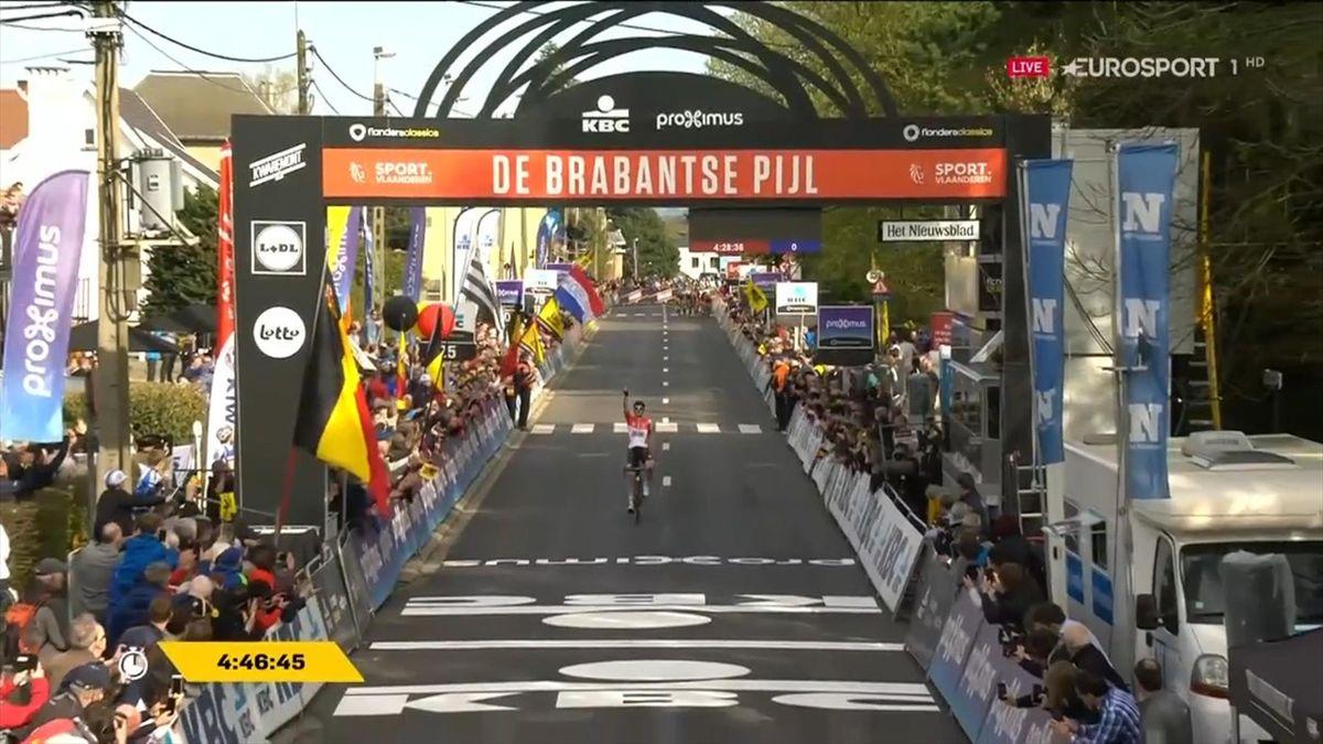 Tim Wellens wint Brabantse  Pijl