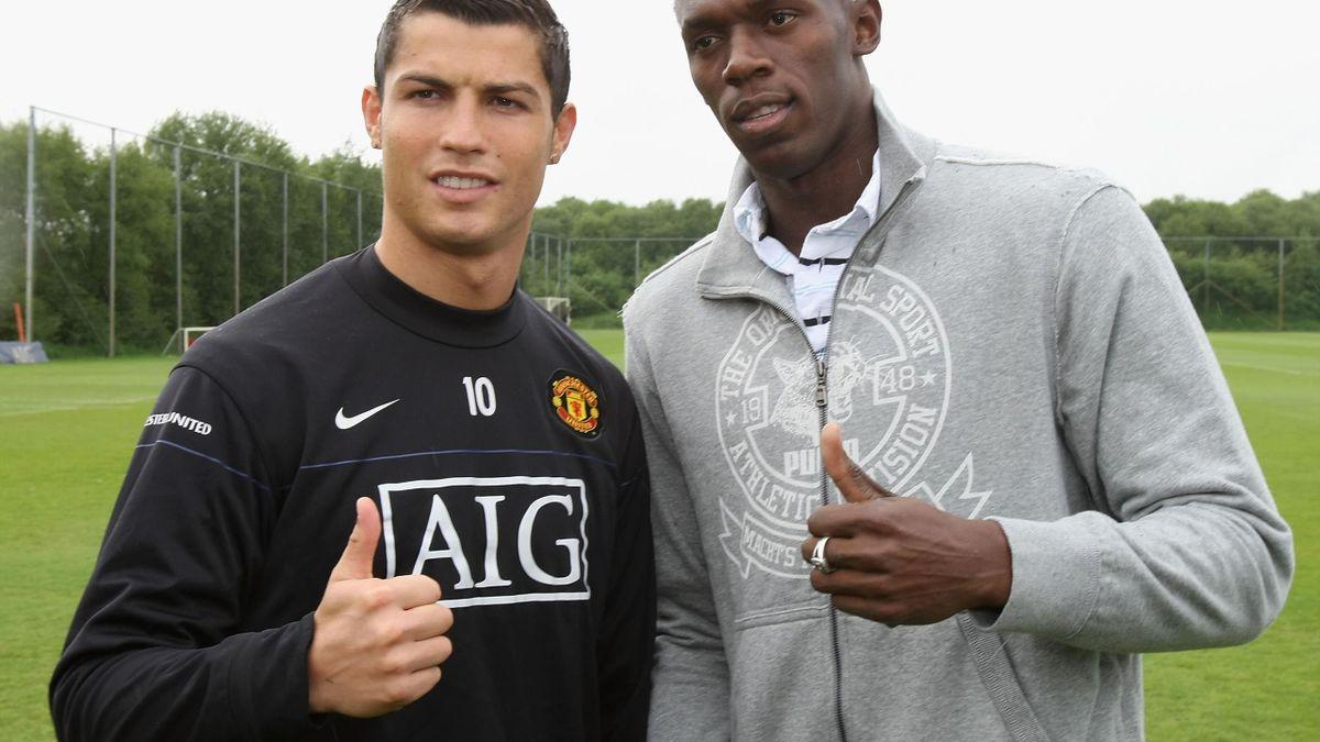 Usain Bolt și Cristiano ronaldo