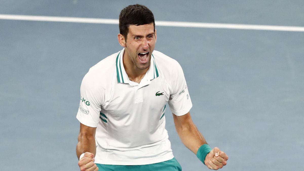 Novak Djokovic triumphiert bei den Australian Open