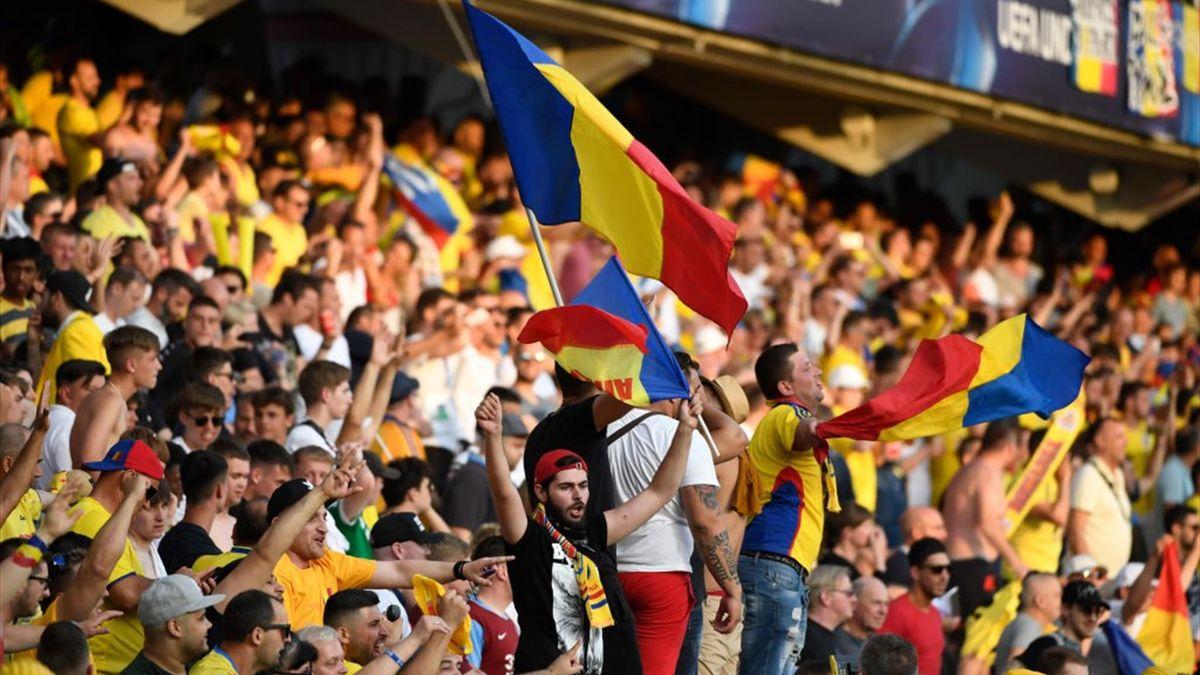 Suporterii naționalei României