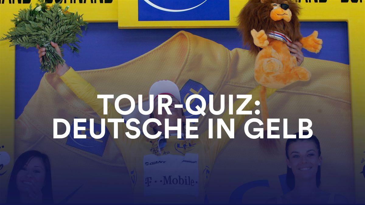 Tour-Quiz: Deutsche in Gelb