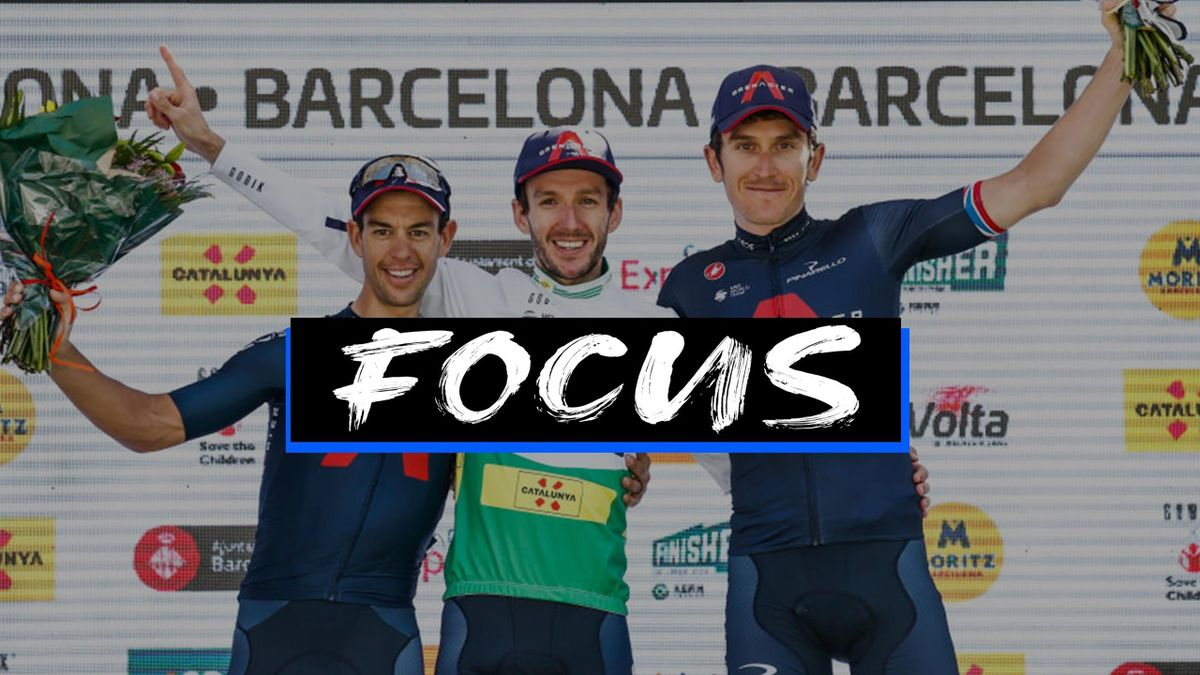 Podio tutto Ineos Grenadiers alla Volta a Catalunya: 1° Adam Yates, 2° Richie Porte, 3° Geraint Thomas