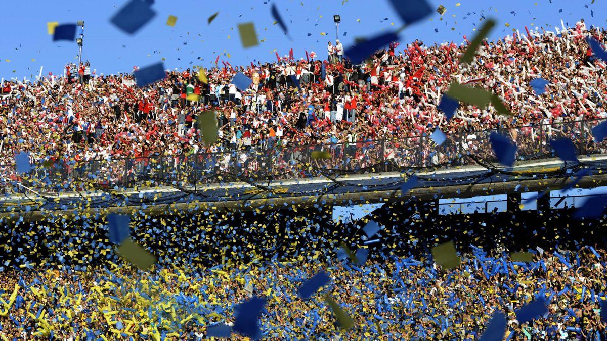 Argentina derby, superclasico River Plate vs Boca Junior
