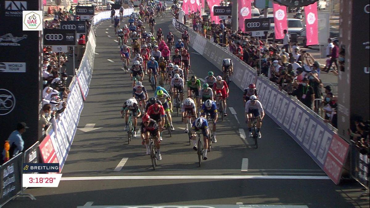 Ackermann im Sprintfinale der 7. Etappe ohne Chance