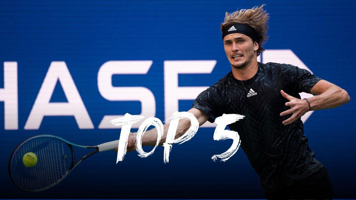US Open | Dit zijn de vijf mooiste punten van dag 10