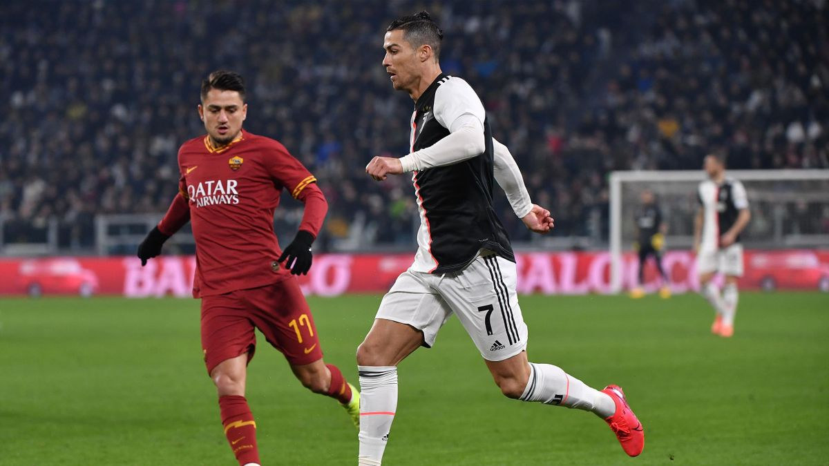 Cristiano Ronaldo - Juventus-Roma - Coppa Italia 2019/2020 - Getty Images