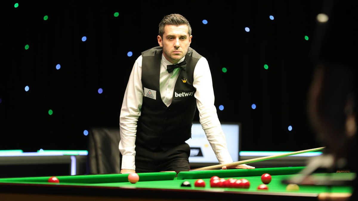 Mark Selby in action at the UK Championship