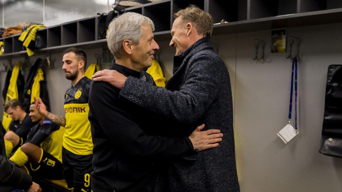 Lucien Favre und Hans-Joachim Watzke