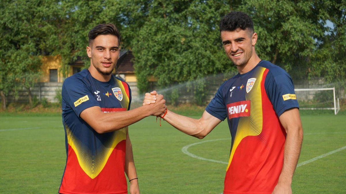 Alexandru Pașcanu și Marco Dulca (România U23)