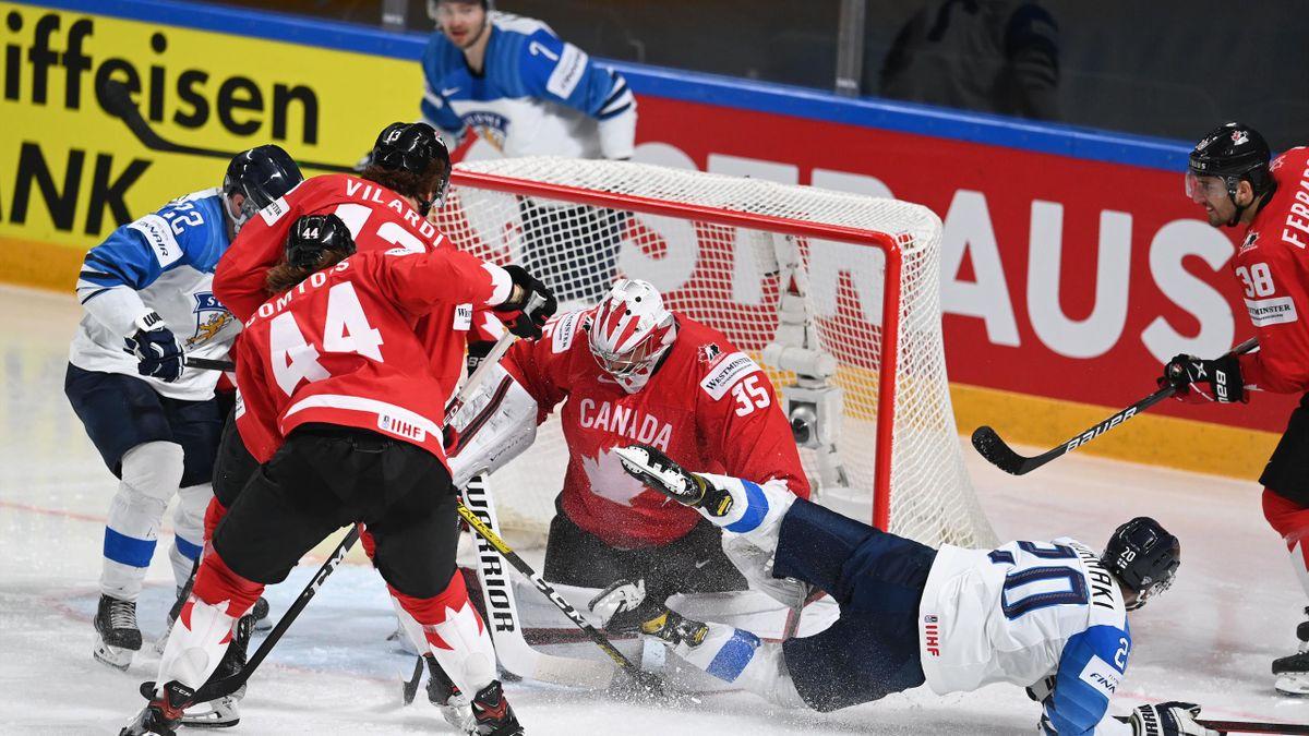 WM: Kanada verliert gegen Finnland nach Penaltyschießen