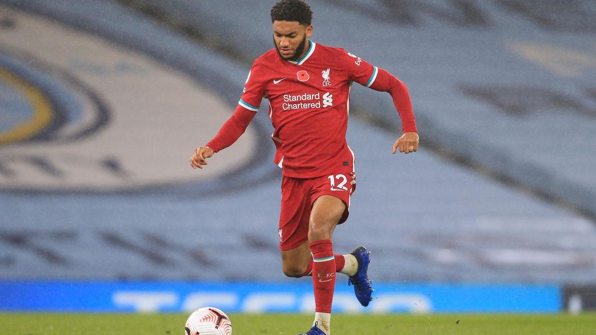 Joe Gomez, le défenseur de Liverpool.