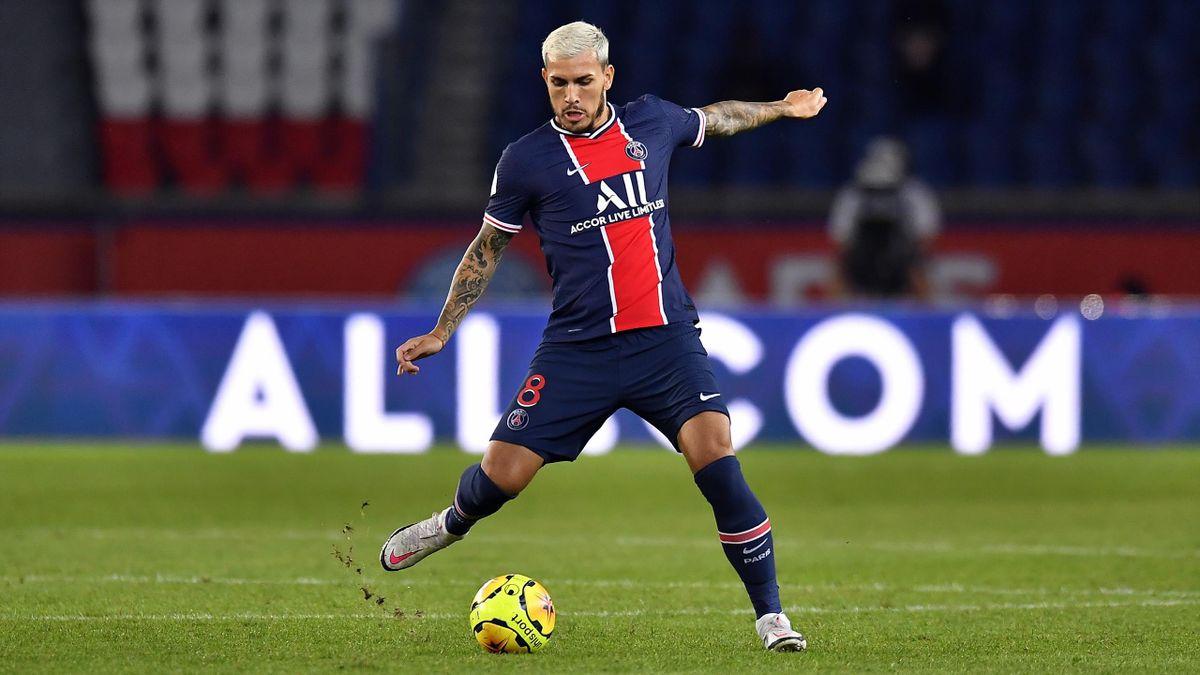 Leandro Paredes, le milieu de terrain du PSG.