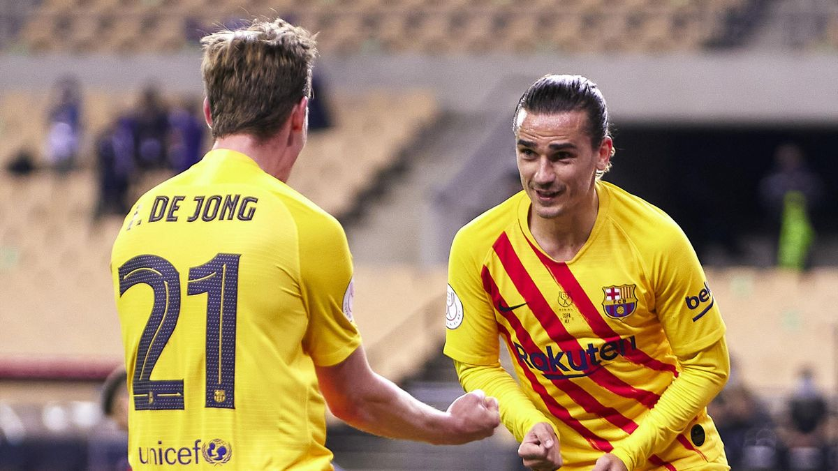 Antoine Griezmann and Frenkie De Jong, «FC Barcelona»