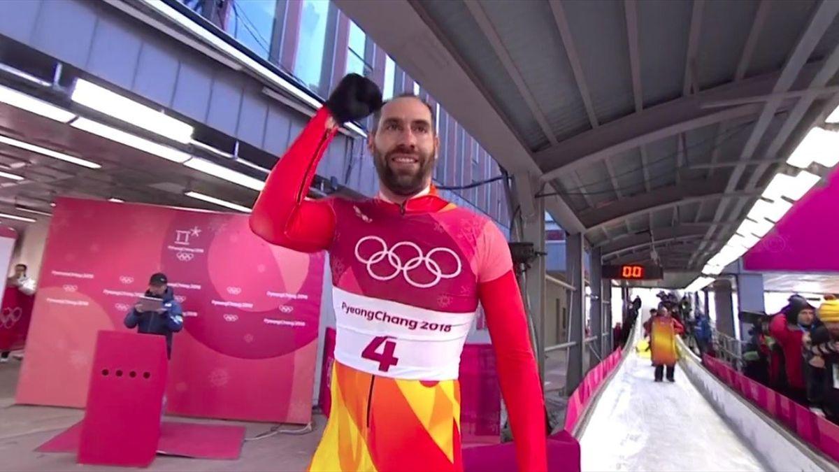 Ander Mirambell se despide de PyeongChang