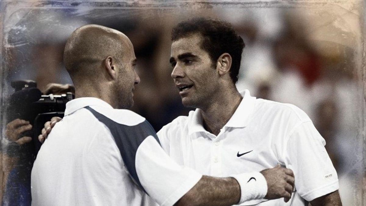 #ReveniriDeLegendă și rivalități de legendă: Andre Agassi - Pete Sampras