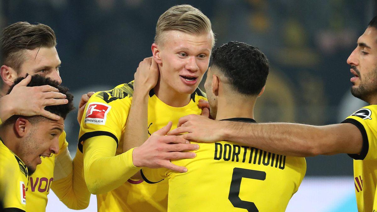 Haaland - Borussia Dortmund-Enitracht Frankfurt - Bundesliga 2019/2020