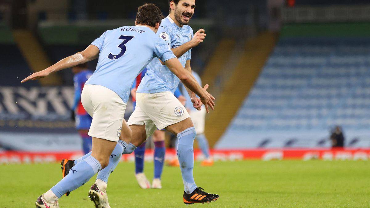 L'esultanza di Gundogan, Manchester City-Crystal Palace